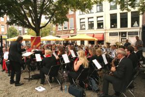 Schaapmarktplein concert (foto Piet Dijkstra)