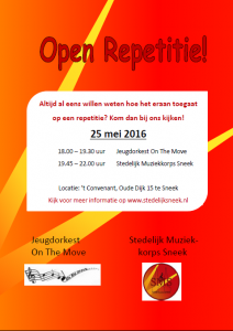 Open repetitie 2016